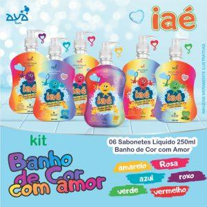 kit banho de cor com amor
